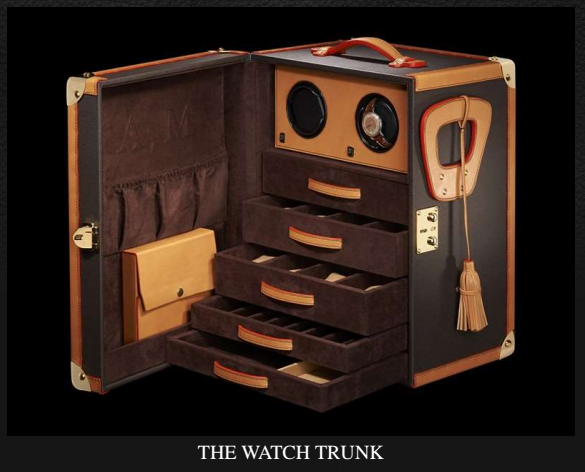 EPHTEE watch trunk Discover: EPHTÉE Master French Trunk Maker EAT LOVE SAVOR International luxury lifestyle magazine and bookazines