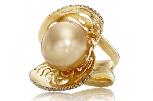 YVEL magnificent indonesian pearl diamond gold ring Discover: YVEL, Jewelry of Style and Distinction - EAT LOVE SAVOR International luxury lifestyle magazine and bookazines