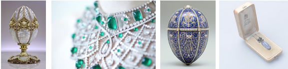 Fabergé A Life of Its Own, Featured Works