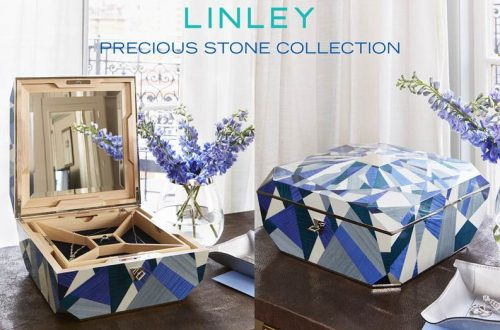 linley precious stone collection The Art of Marquetry Showcased in LINLEY Precious Stone Collection - EAT LOVE SAVOR International luxury lifestyle magazine and bookazines