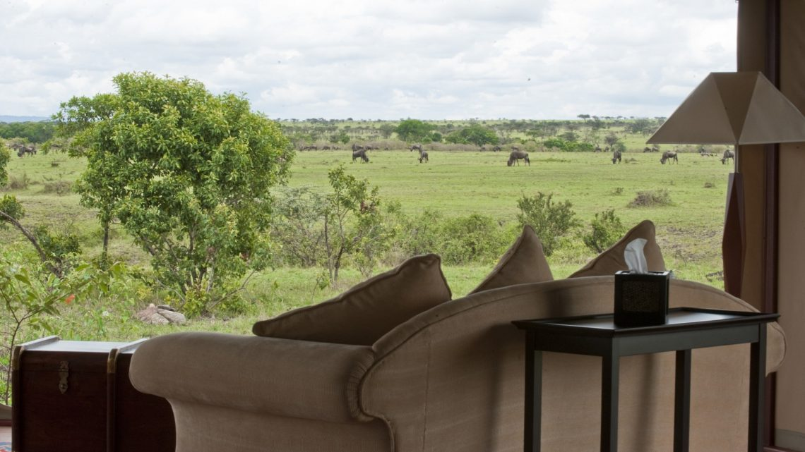 looking out at the safari kempinski