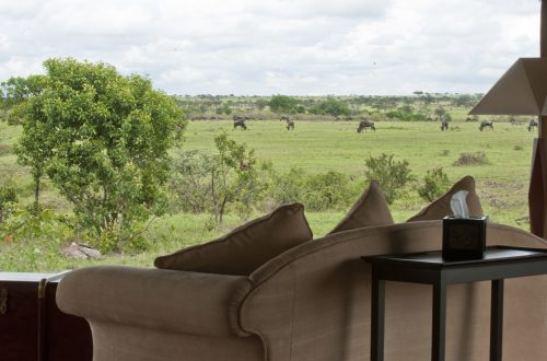 looking out at the safari kempinski Olare Mara Kempinski Masai Mara + Video Part 2 - EAT LOVE SAVOR International luxury lifestyle magazine and bookazines