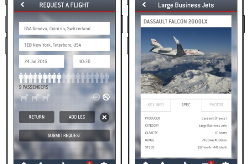 screenshots lunajets app Booking a Private Jet is at Your Fingertips with your Mobile Phone and LunaJets App - EAT LOVE SAVOR International luxury lifestyle magazine and bookazines