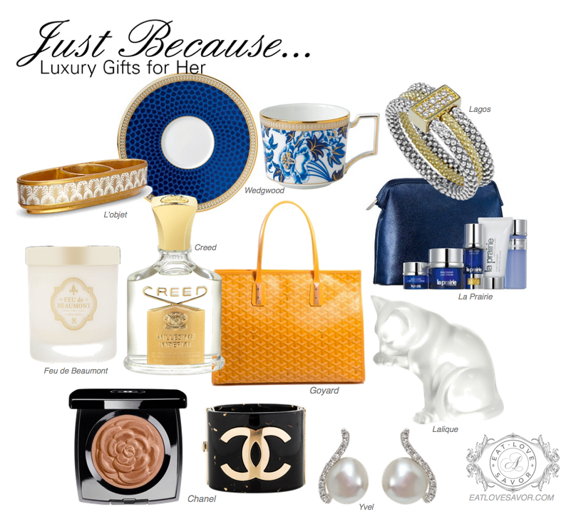 Just Because... Luxury Gifts for Her - EAT LOVE SAVOR