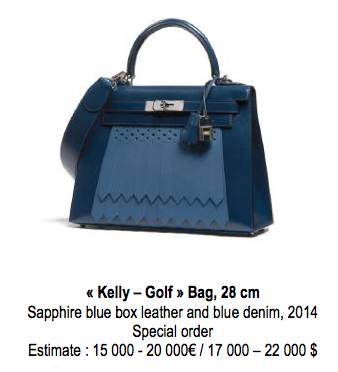 kelly hermes golf bag