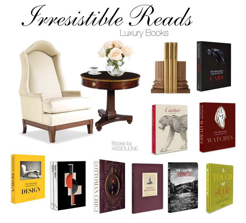 Irresistible Reads: A Luxury Moment with a Great Book by Assouline