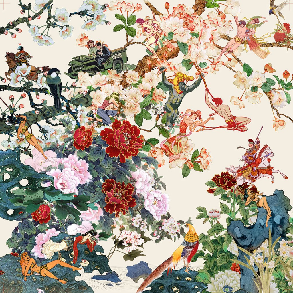 Western arts and crafts - At Once Comical And Energetic There Is An Undertone Of Serious Political And Social Debate In Tsai S Works Borrowing The Tropes Of 19th Century Colonial