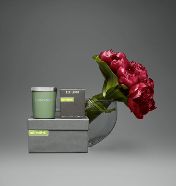 Olivier and christophe candle collection