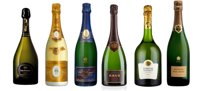 finest bubble champagne tasting