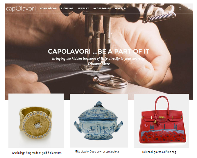 capolavori website