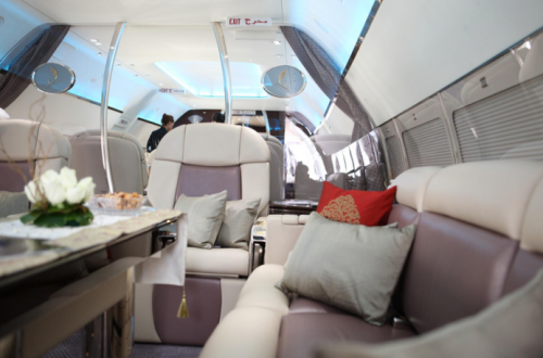 flymenow jet interior Fine Dining Experience at 30,000 ft: Enhanced Charter Catering is on the Menu EAT LOVE SAVOR International luxury lifestyle magazine and bookazines