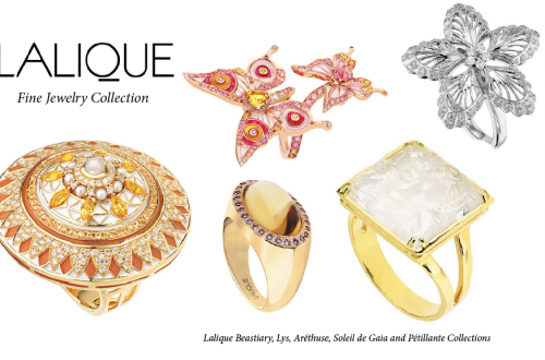 lalique fine jewelry collection rings 5 Fabulous Lalique Fine Jewelry Rings Inspired by Nature EAT LOVE SAVOR International luxury lifestyle magazine and bookazines