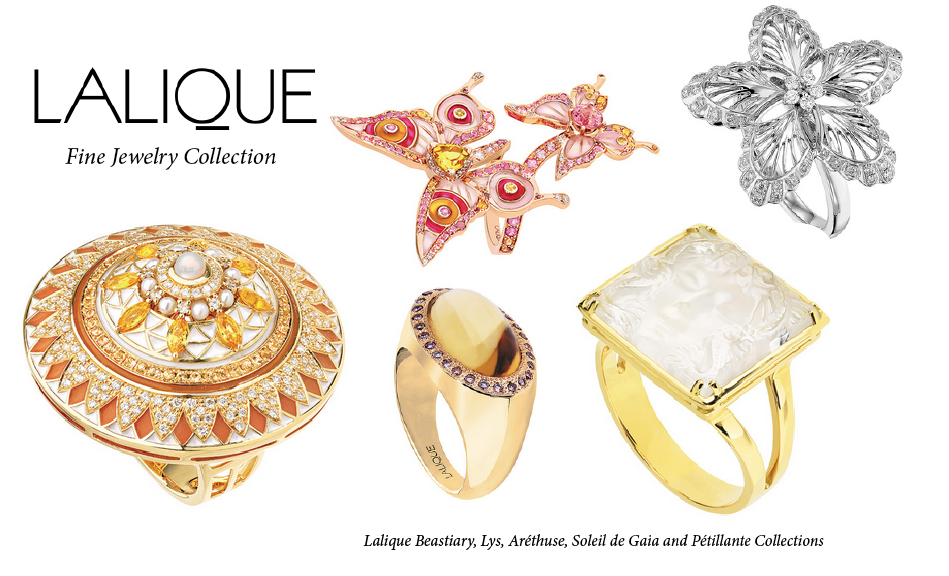 lalique fine jewelry collection rings