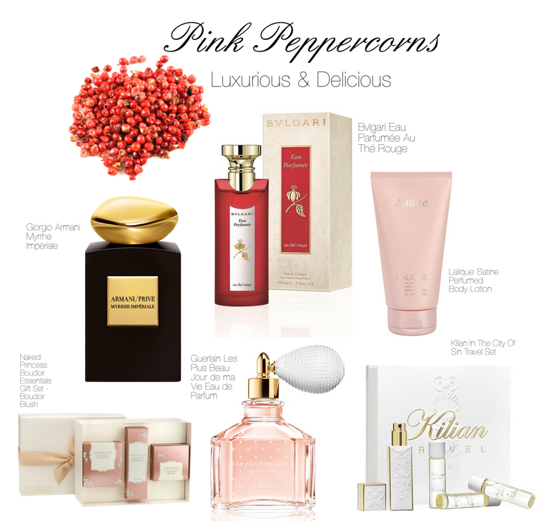pink peppercorns luxurious and delicious