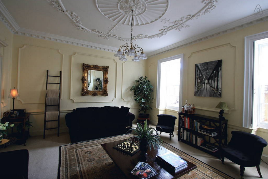 van astor living room