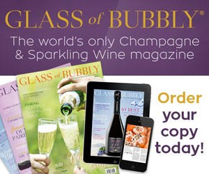 Glass of Bubbly banner