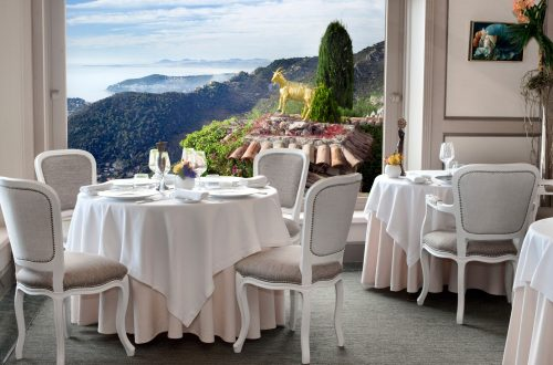 Le Chevre dOr France corsica Dining in the Mediterranean: Top Seaview Restaurants EAT LOVE SAVOR International luxury lifestyle magazine and bookazines