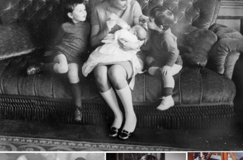 isabelle and hubers dornano with children