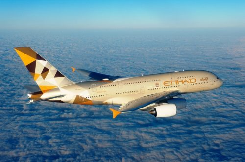 ETIHAD AIRWAYS A3801 Private Jet Collaboration with Etihad Airways, Chapman Freeborn, Airbus A380: Luxury Living in the Air EAT LOVE SAVOR International luxury lifestyle magazine and bookazines