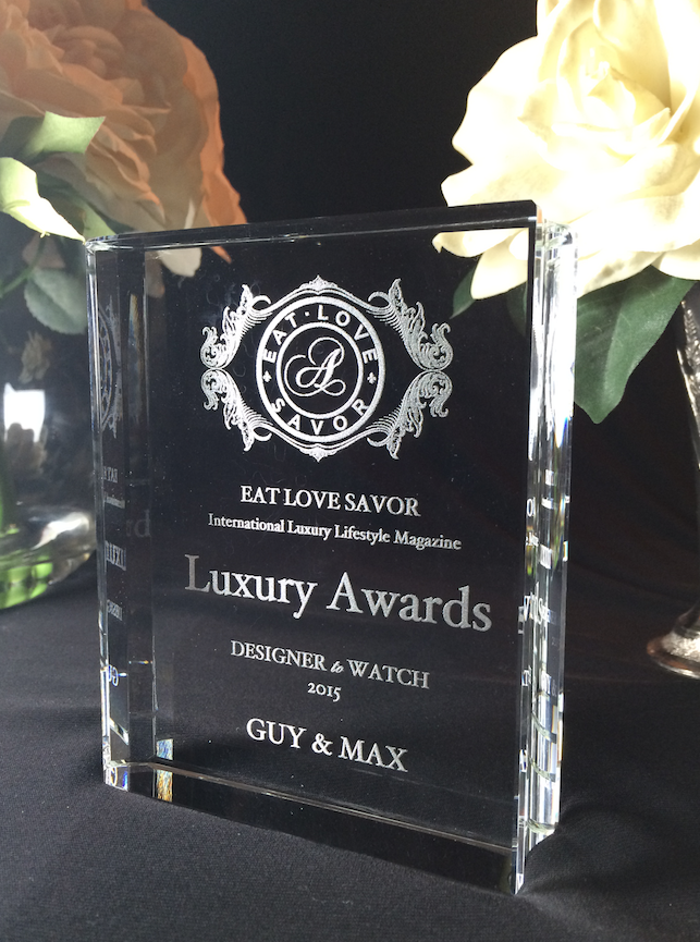 guy and max eat love savor luxury award