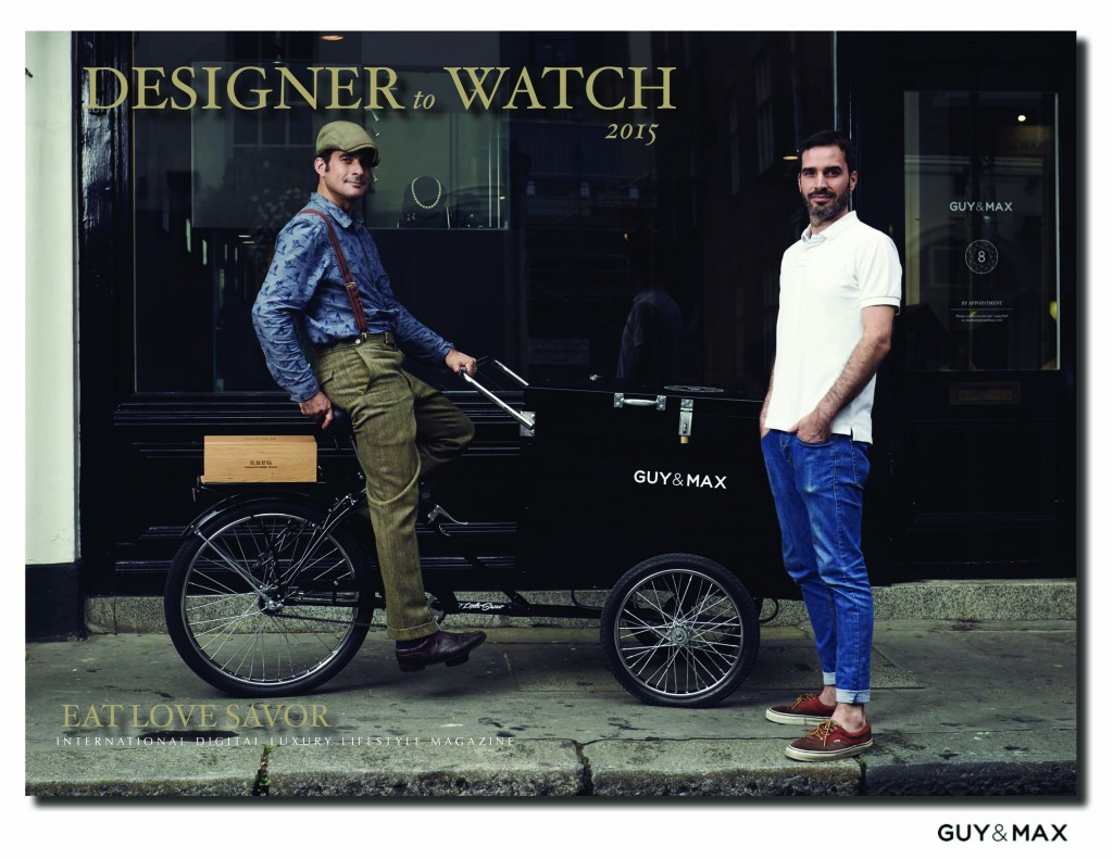 guy and max luxury award designer to watch 2015