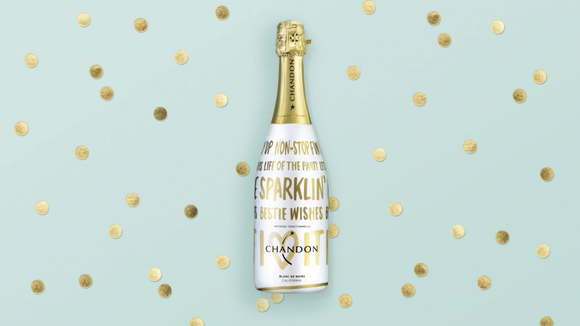 Chandon Holiday 2015 On Background ButterflyCannon Create Festive Holiday Bottle for Chandon - EAT LOVE SAVOR International luxury lifestyle magazine and bookazines