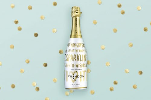 Chandon Holiday 2015 On Background ButterflyCannon Create Festive Holiday Bottle for Chandon EAT LOVE SAVOR International luxury lifestyle magazine and bookazines