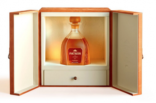 Patron Lalique boxed Discover: 'Patrón en Lalique: Serie 1' - EAT LOVE SAVOR International luxury lifestyle magazine and bookazines