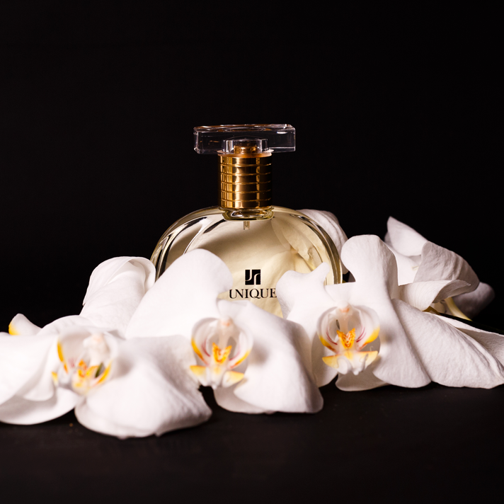 unique fragrance with orchids