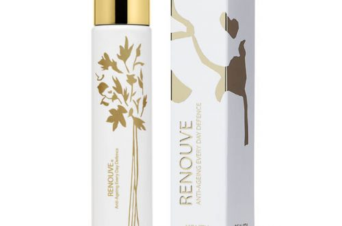 RENOUVE Nº1 with box Discover: RENOUVE Anti-Aging Hand Sanitizing Lotion EAT LOVE SAVOR International luxury lifestyle magazine and bookazines
