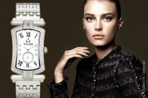 Talos timepiece with woman Legend Meets Luxury in Talos Timepieces EAT LOVE SAVOR International luxury lifestyle magazine and bookazines