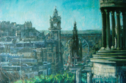 LUCY DICKENS buildings untitled 3 Behind the Brush: Painter, Lucy Dickens - EAT LOVE SAVOR International luxury lifestyle magazine and bookazines
