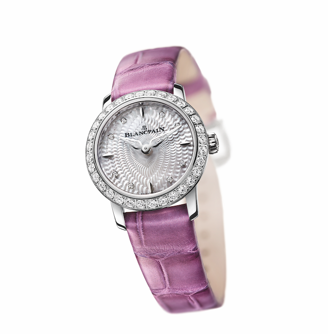 ladybird blancpain Blancpain 'Ladybird' Limited Edition Celebrates 60th Anniversary - EAT LOVE SAVOR International luxury lifestyle magazine and bookazines