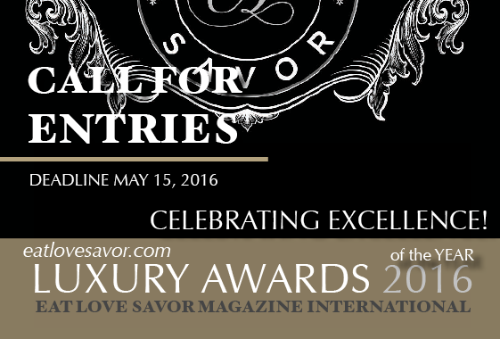luxury awards of the year call for entries
