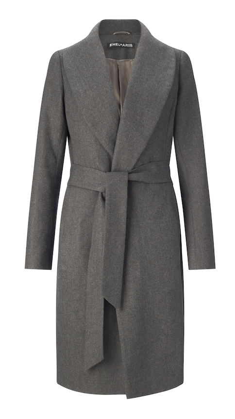 EMEL and  ARIS trench coat grey
