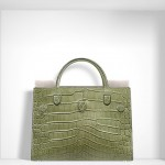 SUMMER 2016 DIOREVER BAG OLIVE GREEN SALTWATER CROCODILE Diorever Another Elegant Timeless Classic Handbag from Iconic DIOR - EAT LOVE SAVOR International luxury lifestyle magazine and bookazines