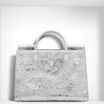 SUMMER 2016 LARGE DIOREVER BAG CRINKLED METALLIC silver LAMBSKIN Diorever Another Elegant Timeless Classic Handbag from Iconic DIOR - EAT LOVE SAVOR International luxury lifestyle magazine and bookazines