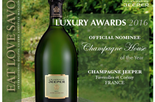 nominee luxury awards 2016 champagne jeeper Luxury Award 2016 Nominee: Category - Champagne: Champagne JEEPER EAT LOVE SAVOR International luxury lifestyle magazine and bookazines