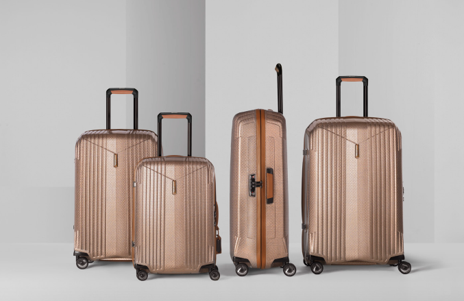 Hartmann tR luggage set Hartmann, 135 Years of Exquisitely Crafted Luggage EAT LOVE SAVOR International luxury lifestyle magazine and bookazines