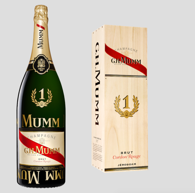 MUMM no 1 victory jeroboam For the Love of Champagne: MUMM No.1 Victory Jeroboam EAT LOVE SAVOR International luxury lifestyle magazine and bookazines