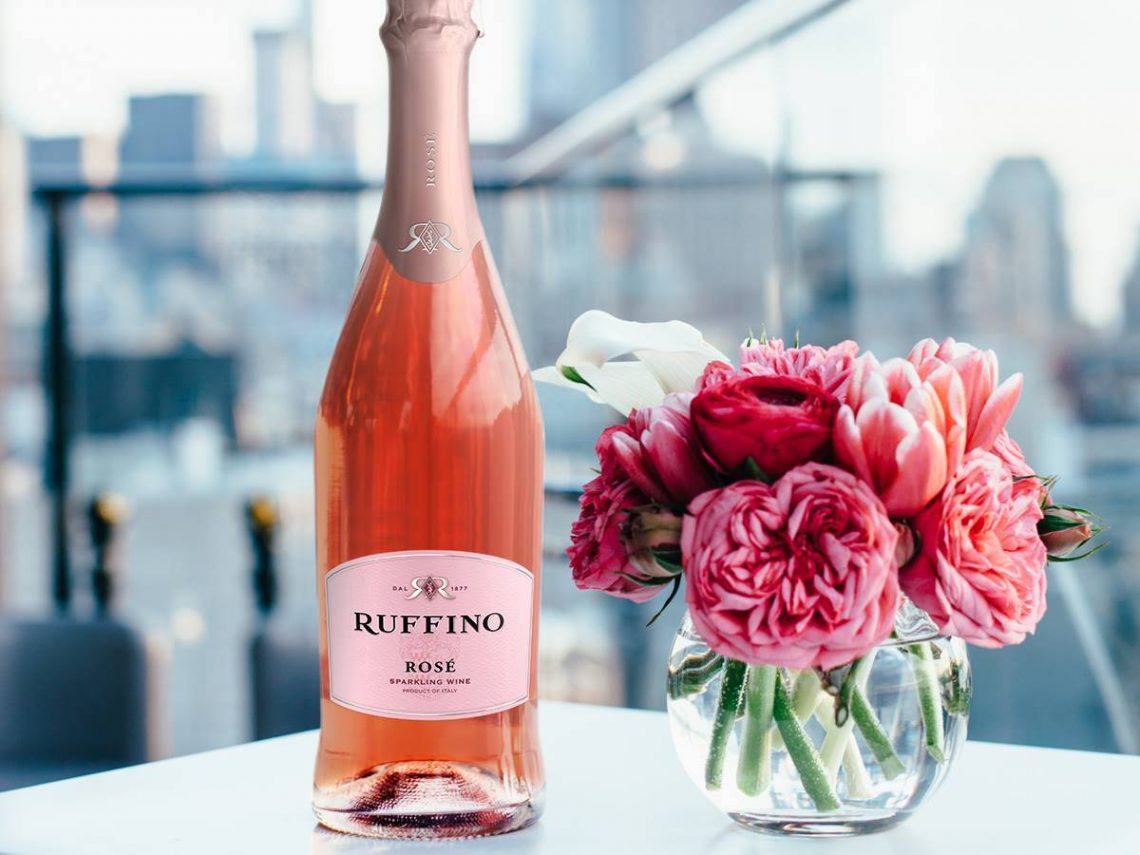 Ruffino sparkling rose Discover Ruffino Sparkling Rose Prosecco & Cocktail Recipes - EAT LOVE SAVOR International luxury lifestyle magazine and bookazines
