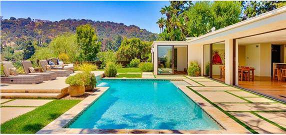 hollywood hills luxury zen