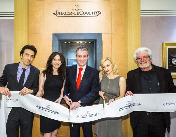 ribbon cuting Jaeger LeCoultre Vancouver - EAT LOVE SAVOR Luxury Lifestyle Magazine