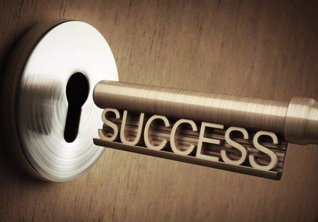 04 Nov 2014 --- The key to success, conceptual illustration. --- Image by © KTSDESIGN/Science Photo Library/Corbis
