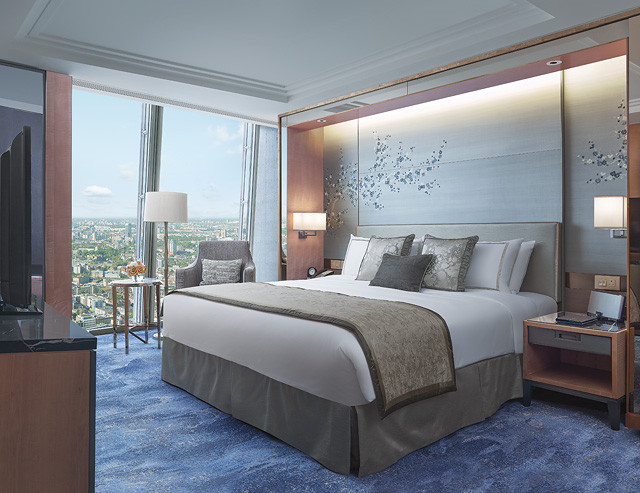 shangri la london shard premier suite