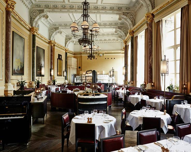 the gilbert scott restaurant interior