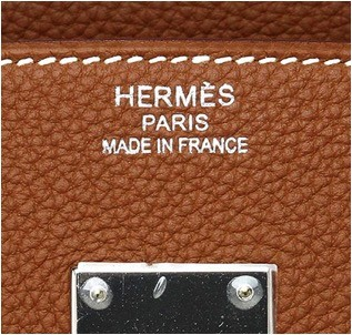 hermes slanted hand stitching