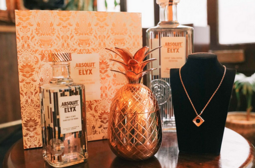 Dominic Jones Absolut Elyx collection Absolut Elyx x Dominic Jones Create Five Bespoke Bottle Toppers and Matching Pendants - EAT LOVE SAVOR International luxury lifestyle magazine and bookazines