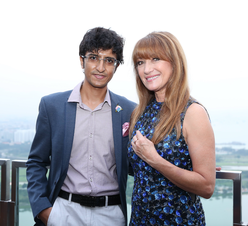 Karan Tilani & Jane Seymour - luxury lifestyle magazine - eat love savor