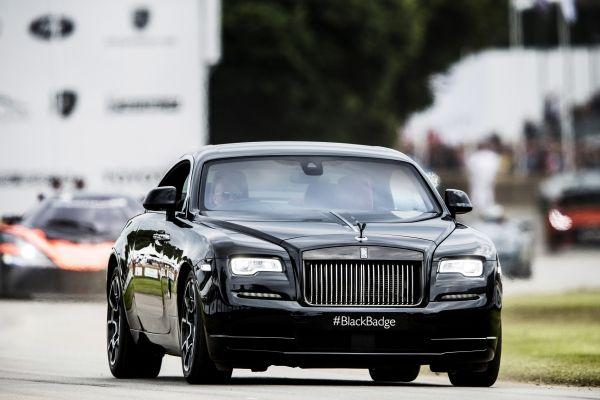 P90224970 lowRes rolls royce celebrat Rolls-Royce Celebrated Another Successful Goodwood Festival of Speed Featuring the #BlackBadge EAT LOVE SAVOR International luxury lifestyle magazine and bookazines